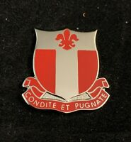 🌟US Army 20th Engineer Battalion Unit Crest  DUI DI Clutch Back Pin Badge