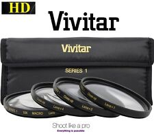Vivitar HD 4Pc CloseUp Macro +1+2+4+10 Set For Sony DSC-RX1R DSC-RX1 DSC-RX1R II