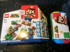 LEGO 71360 Super Mario Adventures with Mario Starter Course • PLUS • Carry Case