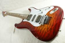 Used SCHECTER GS-1-FR UCB MIJ Stratocaster Quilt Top Coil Tap W/GB Free Shipping