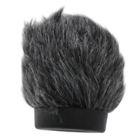 Outdoor Furry Cover Windscreen Wind Muff for Interview Microphone 2.68inch
