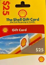 Shell Gasoline $25 Gift Card