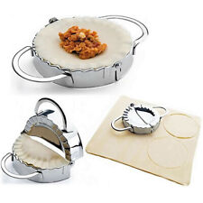 Stainless Steel Dough Press Maker Dumpling Pie Ravioli Making Mold Mould Tool