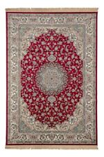 ROYAL PALACE - 14644 RED Highest Quality Art Silk Traditional Rugs