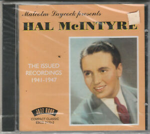 Hal McIntyre- The Issued Recordings 1941-1947 NEW CD Free 1st Class UK P&P