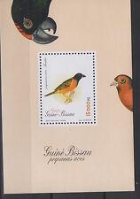 Guinea-Bissau 1996 Birds Souvenir sheet S/S Mi. Bl. 299 MNH ** Scarce !
