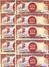 LOT Trinidad and Tobago, 10 x 1 dollar, 2006, Pick 46, UNC