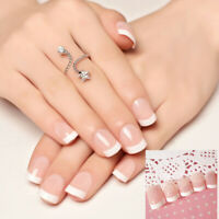 24pcs Acrylic Design False French Nails Full Nail tips Fake Art Cover Manicure