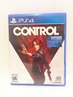 Control (PlayStation 4, 2019) Game, Case, and Inserts Tested Fast Shipping