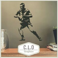 Rugby Vinyl Wall Sticker Transfer Decal Art Decor Union League Graphic Mural Uk