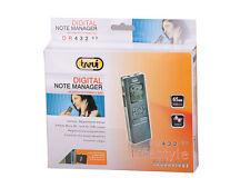Trevi DR432 REGISTRATORE VOCALE DIGITALE Mp3 WMA Micro SD 1GB 65h reg. Sveglia