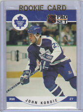 90-91 Pro-Set John Kordic Rookie Card RC #536 Mint