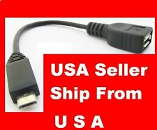 6 Pack Micro-USB Male to USB 2.0 Female Host OTG Adapter Cable for Nexus 7