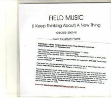 (DR751) Field Music, (I Keep Thinking About) A New Thing - 2012 DJ CD
