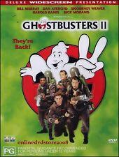 GHOSTBUSTERS II (Bill MURRAY Dan AYKROYD Sigourney WEAVER) DVD NEW SEALED Reg 4