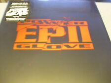 "Power Glove - EP II - 12"" BRIGHT RED Vinyl // New & Sealed // Download"