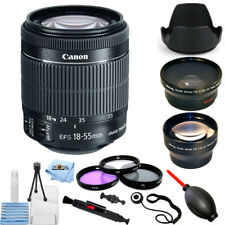 Canon EF-S 18-55mm f/3.5-5.6 IS STM Lens PRO BUNDLE