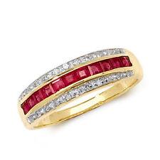 Band Ruby Ruby Fine Rings