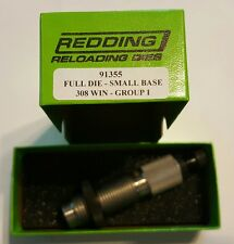 91355 REDDING SMALL BASE FULL LENGTH SIZING DIE 308 WINCHESTER - NEW - FREE SHIP