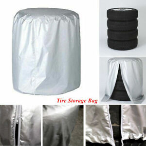 Car SUV Wheel Tyre Rain/Dust-proof Seasonal Protect Cover Spare Tire Storage Bag