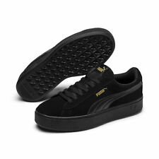 PUMA Women's Vikky Stacked Suede Sneakers