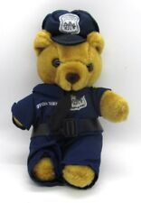 Officer Teddy Bear Furr County Police Dept Stuffed Plush Bear Police Officer