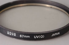 # hoya filtro UV UV (0) e67 e 67 japón 4 af-Nikkor 24-85 filtros de calidad top! #