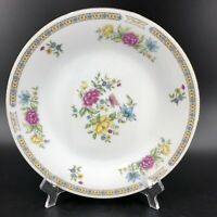 """Liling Fine China Yung Shen LING ROSE Dinner Plate Butterfly & Flowers 10.5"""""""