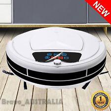 Robot Vacuum Cleaner Automatic Robotic Carpet Mop Floor Dry Wet Clean Recharge