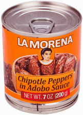 La Morena Chipotle Peppers in Adobo Sauce - 200g