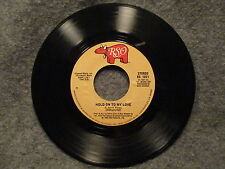 """45 RPM 7"""" Record Jimmy Ruffin Hold On To My Love 1980 RSO Records RS 1021 VG+"""