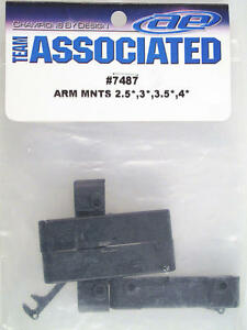 Team Associated Rear Bras Mounts 2.5, 3, 3.5, 4 7487 Modélisme