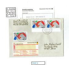 (E2430) Bund Nr.1409 MeF herrliche Mehrfachfrankatur