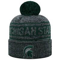 Michigan State Spartans Beanie Cuffed Winter Knit Hat Cap Toque Licensed NWT