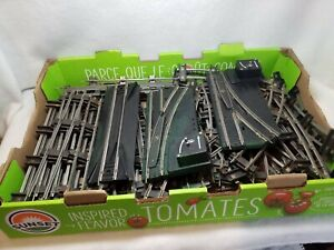 Misc Lot ~ AC Gilbert Toy & American Flyer ~ S Gauge Electric Train Track ~ 62pc