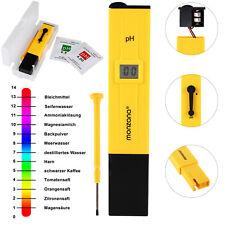 Wassertester PH Wert Tester Wasser Messgerät Chlor gelb