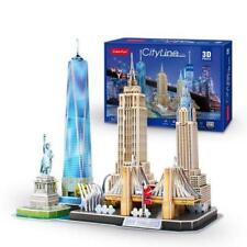 DARON CFMC255H NEW YORK CITY CITYLINE 123 PIECES 3D PUZZLE