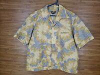 Vintage Tori Richard Multicolor Psychedelic Hawaiian Aloha Shirt Mens Size XL