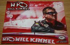 "2016 Will Kimmel ""Happy Valentine's Day"" Ford Fusion Daytona ARCA postcard"