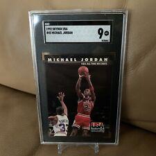 1992-93 Skybox USA #45 Michael Jordan / Chicago Bulls / HOF / SGC 9 MINT