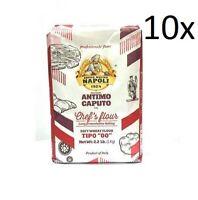 Antimo Caputo 00 Chef's Flour 1 Kilo Bags (10-Pack) Cuoco PIzza Napoli