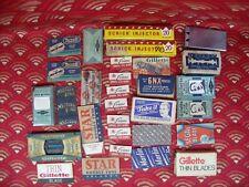 Antique & Vintage Lot of Safety Razor Blades