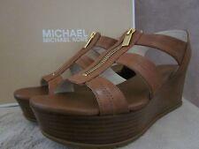 MICHAEL KORS 40S5BRFA3L Womans Berkley Mid Shoes Wedge Heels US 9.5 EUR 39.5 NWB