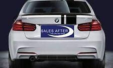 Rear Splitter Matt Black Genuine BMW F30 3 Series M Performance 51192291417