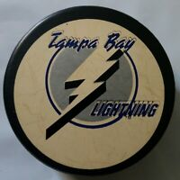 TAMPA BAY LIGHTNING NHL OFFICIAL GAME PUCK TRENCH - ZIEGLER - GENERAL TI- CANADA