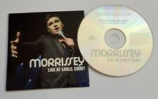 Morrissey  Live At Earls Court PROMO CD The Smiths