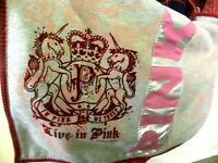 Victoria's Secret Oversized Tote Overnight Bag Slouchy Purse Live In Pink Large