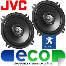 "Peugeot 206 1998 - 2006 JVC 5.25"" 13cm 500 Watts Rear Door Car Speakers Upgrade"