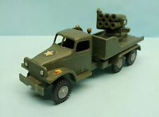 VR06/16/60 POLITOYS F.J / PLASTIQUE / ITALY / GMC MILITAIRE LANCE MISSILES 1/50