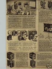 1950 PAPER AD Camera Kodak Brownie Box Hawkeye Duaflex Reflex Ansco Spartus